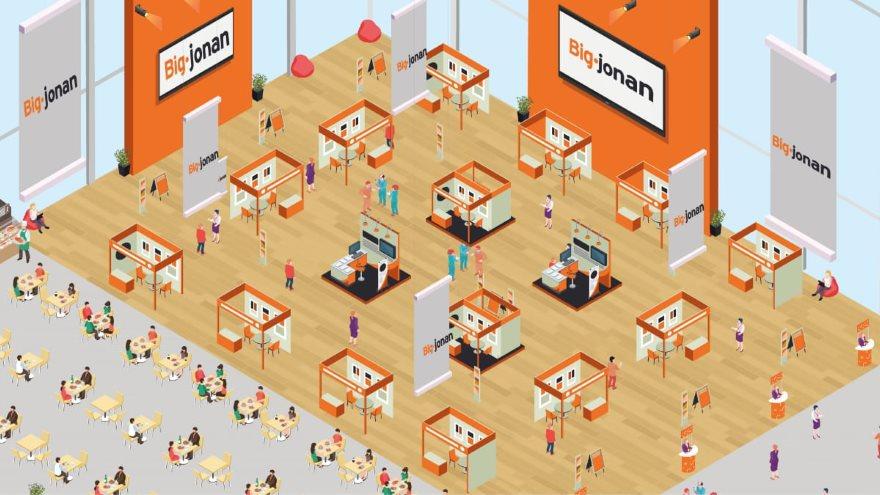 Big-Jonan es una startup argentina que ofrece eventos en 3D