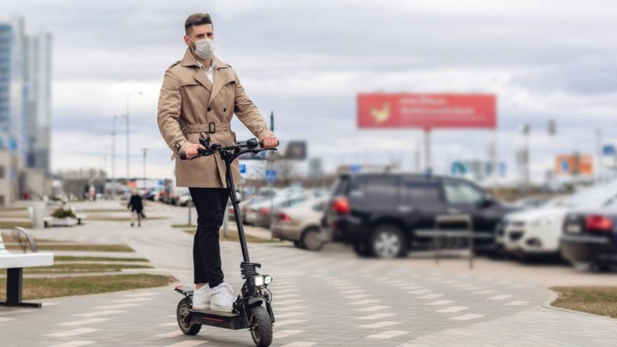 Los monopatines aparecen como una gran alternativa al transporte público.