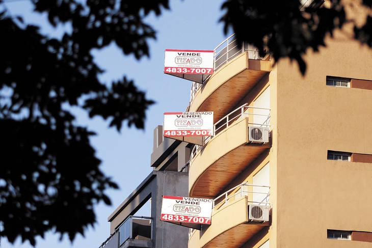 Las inmobiliarias luchan hace dos años para mantenerse en pie.