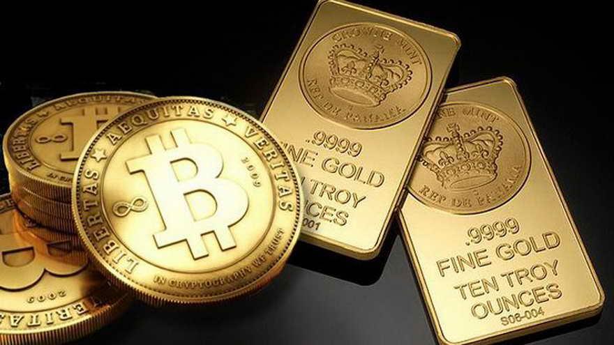El oro y el bitcoin son considerados activos de refugio de valor ante la devaluación de las monedas fuertes