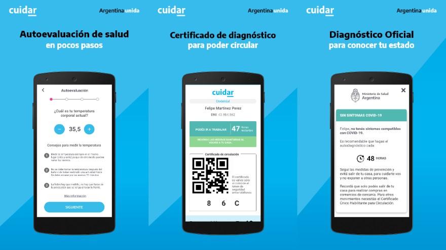 Cuidar, la app del Gobierno Nacional para la ayuda del covid19