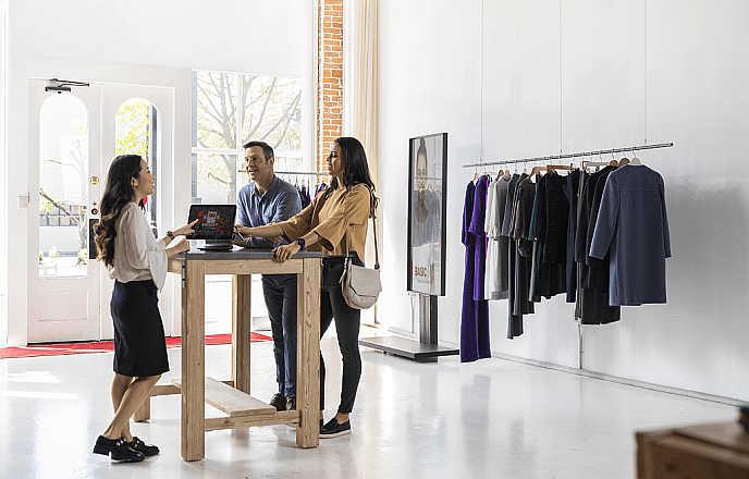 Los locales de ropa implementarán varias soluciones de IoT