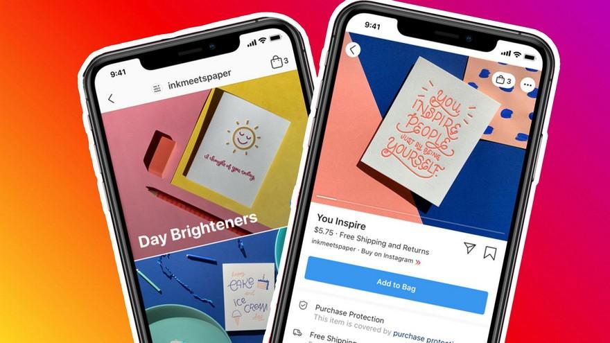 Instagram Shops, una de las funciones que pronto llegarán a Argentina