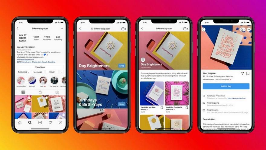 Facebook está probando la función para poder comprar desde los videos de Instagram