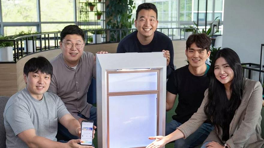 La ventana artificial de Samsung