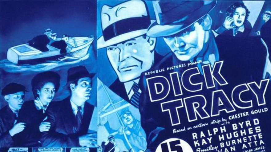 El protagonista de la exitosa tira cómica creada en 1931, Dick Tracy, era un inspector de policía que se valía de la ciencia forense, artefactos avanzados e ingenio para atrapar a los malos