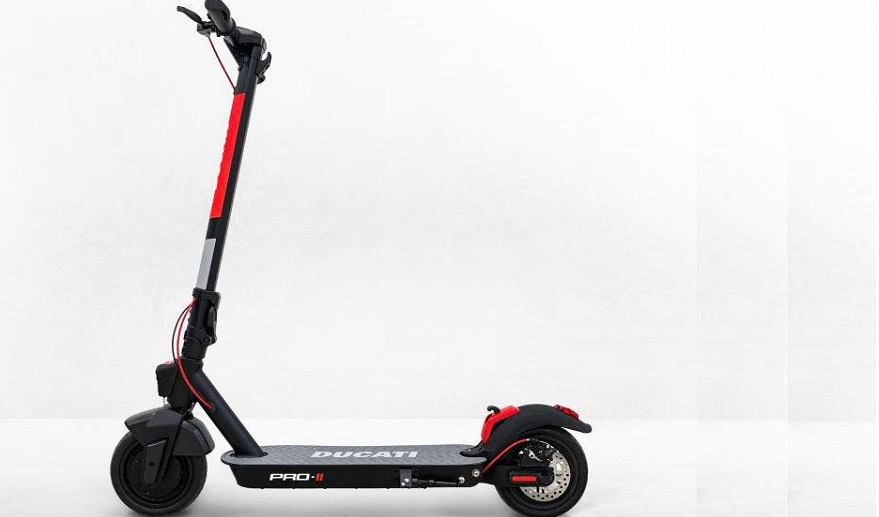 Ducati Pro II, el nuevo monopatín.