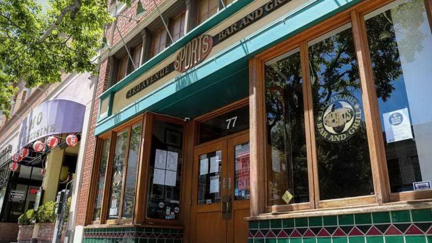 El bar de al lado de la primera sede de YouTube