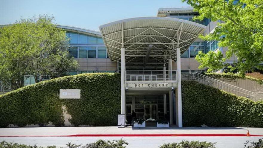 La sede actual de YouTube, en California