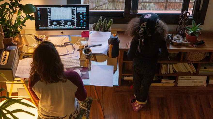 La casa como oficina, una realidad actual