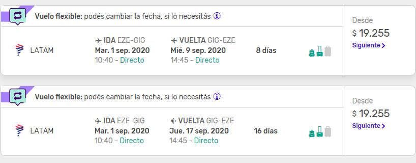Vuelos a Rio de Janeiro con Despegar.