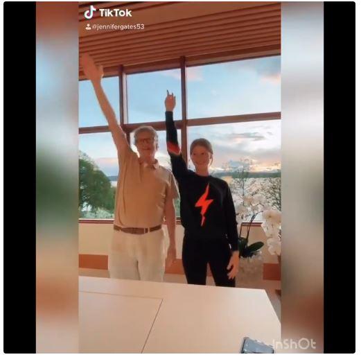 El gurú tecnologico Bill Gates también hizo su aparición en la app