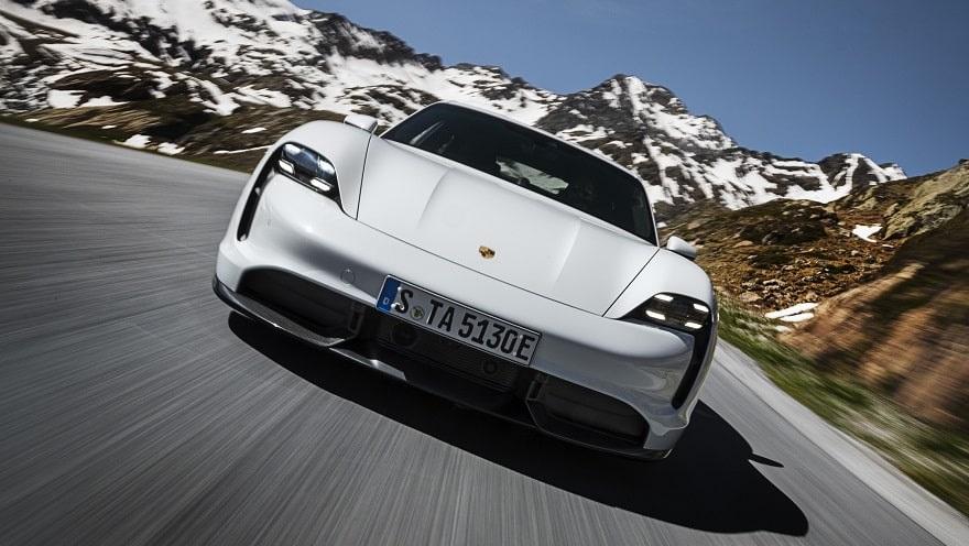 Porsche Taycan, el eléctrico más caro del país.