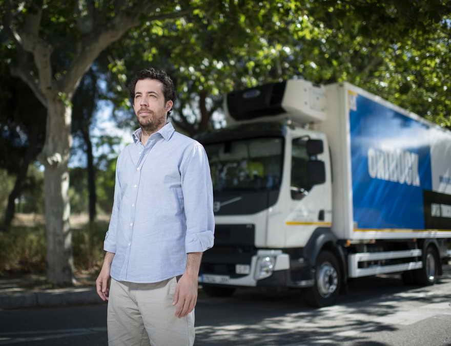 Íñigo Juantegui, fundador y consejero delegado de Ontruck, empresa tecnológica orientada al transporte de última milla