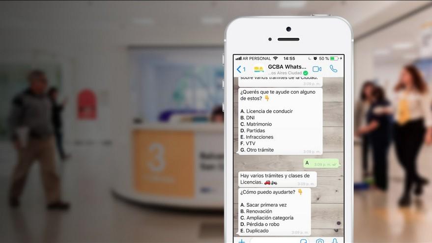 A través de Boti, el chatbot de la Ciudad, se pueden realizar una multiplicidad de gestiones