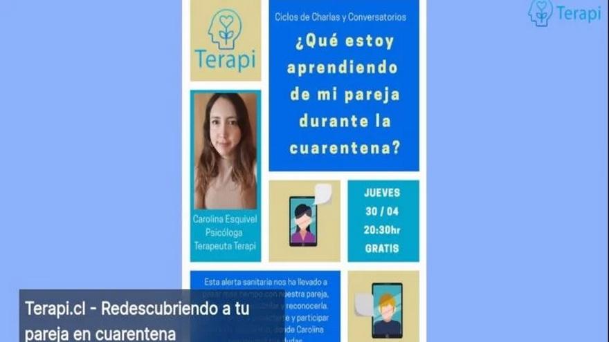 Esta startup chilena ofrece servicios de atención psicológica en itmepos muy necesarios de aislamiento social