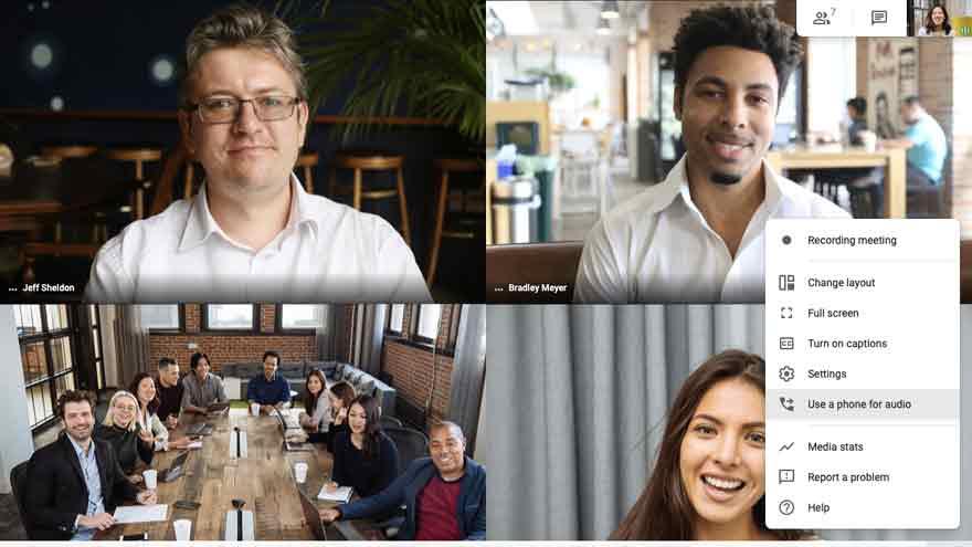 Google Meet permite que los participantes pidan ayuda al moderador.