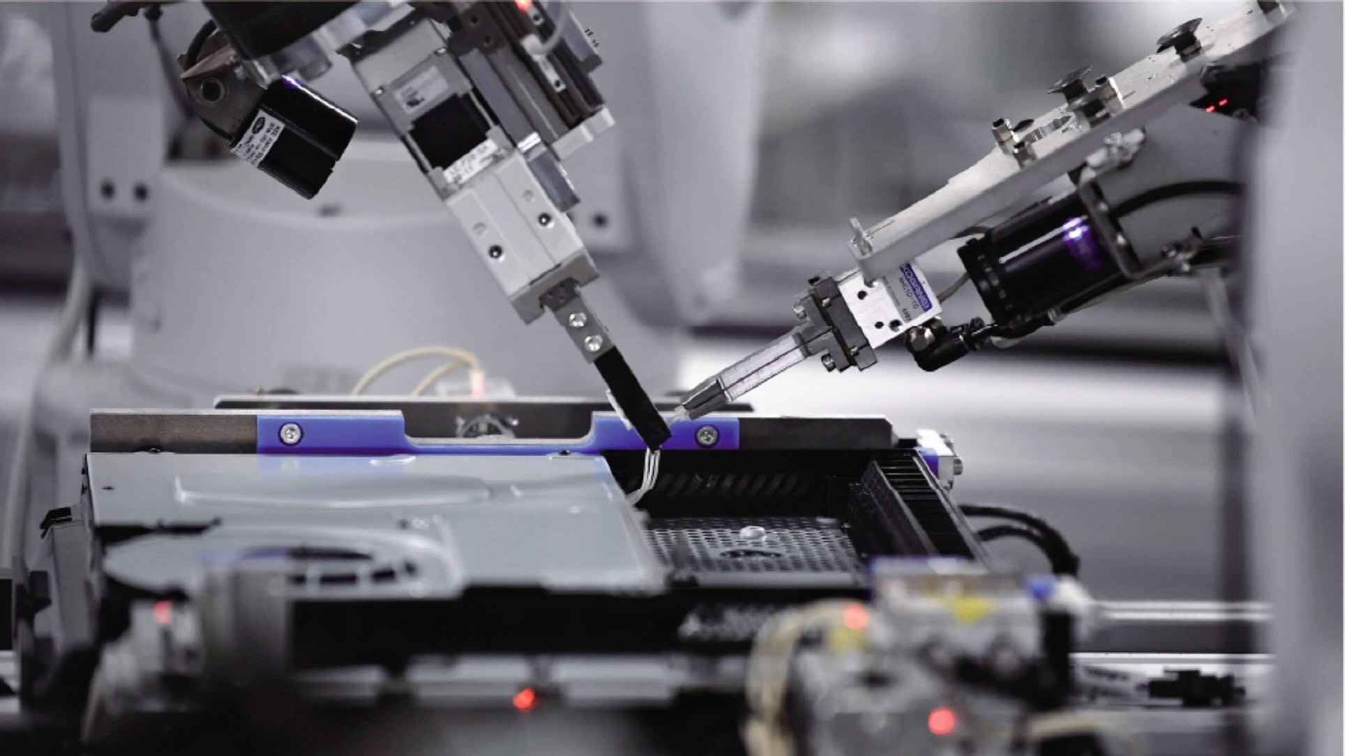 Proceso de fabricación de la PS4
