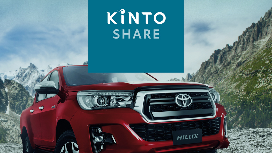 Toyota Kinto, un nuevo servicio de movilidad.