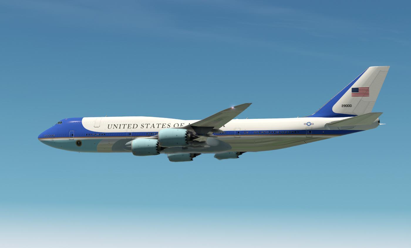El gobierno de Estados Unidos también solicitó 747 para su flota de Air Force One