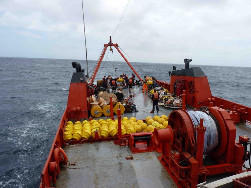Esta política de Estado en materia de investigación de los espacios marinos argentinos comenzó a implementarse en abril de 2014