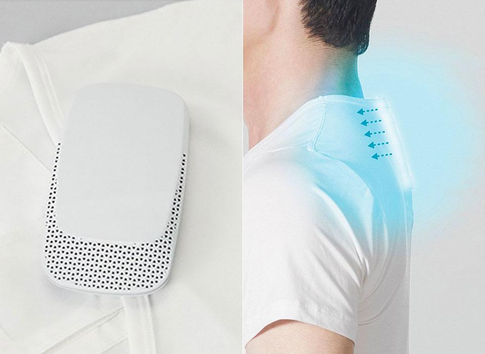 Aire acondicionado personal: modelos de Sony y Fujitsu
