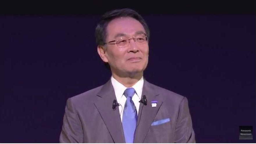 Kazuhiro Tsuga, CEO d Panasonic