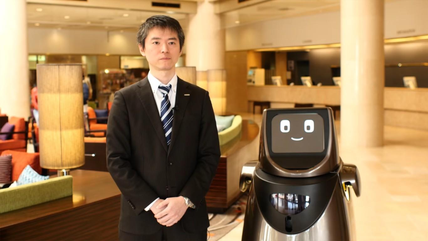 Hospi, el famoso robot autónomo de Panasonic