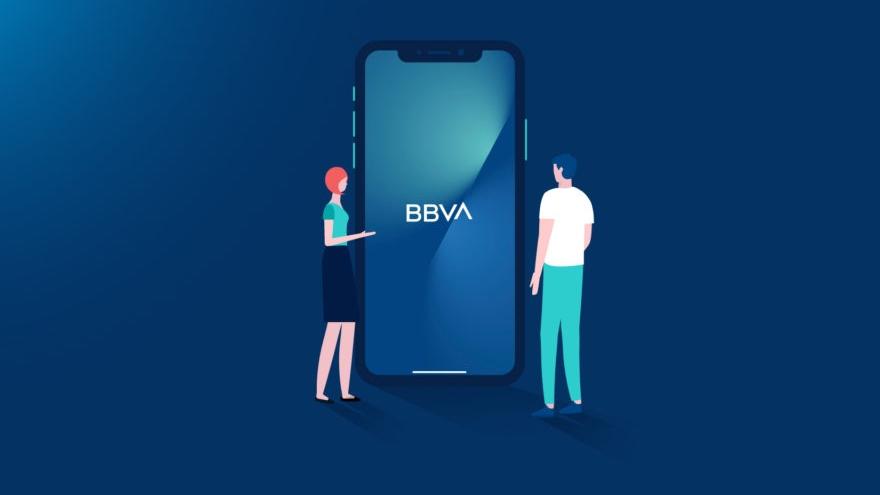 el sistema le pedirá que verifique la operación en la parte privada de la app o la web de BBVA