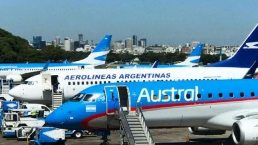 Austral y Aerolíneas se fusionan