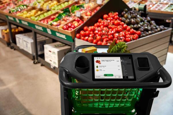 Amazon Dash Cart, es el carrito inteligente que presentó Amazon en plena pandemia