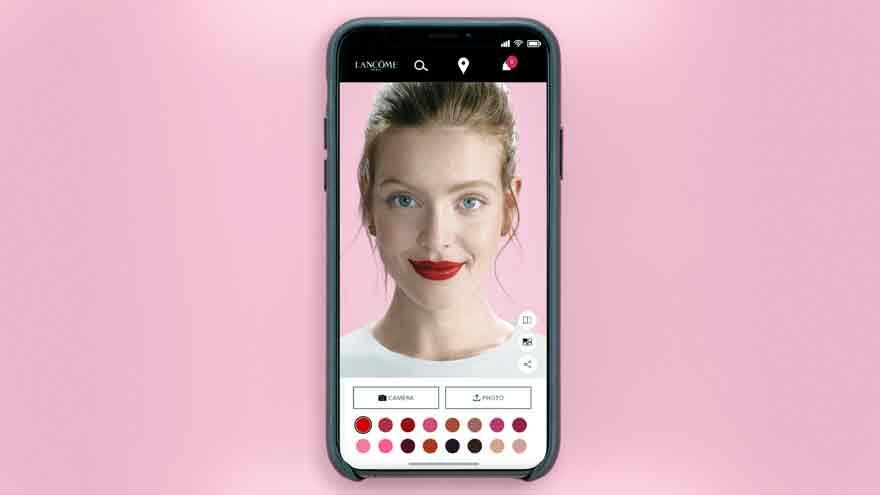 La realidad aumentada se ajusta a las pruebas de maquillaje post cuarentena