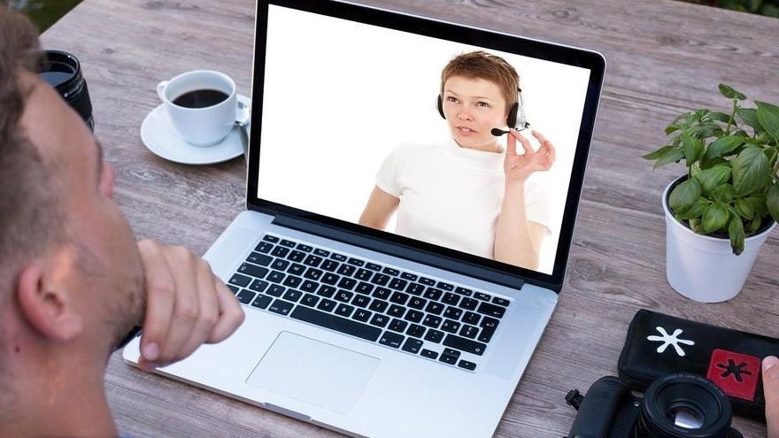 Otro ejemplo de entrevista laboral por videollamada