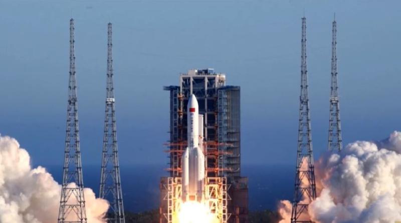 China lanzó recientemente una misión a Marte