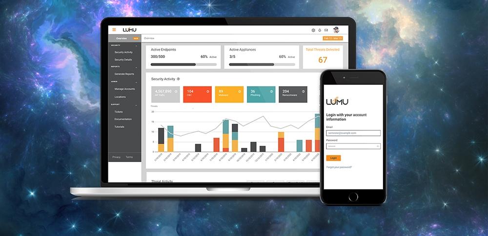 Portal de Lumu Technologies