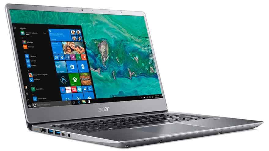 La notebook de Acer es una de las más ligeras en su clase