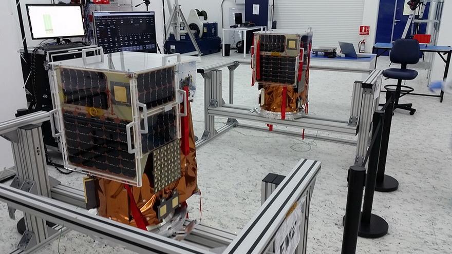 Los 10 satélites que la compañía lanzará en octubre son los primeros construidos en serie