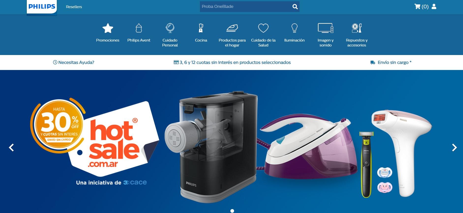 Philips, presente en el Hot Sale 2020