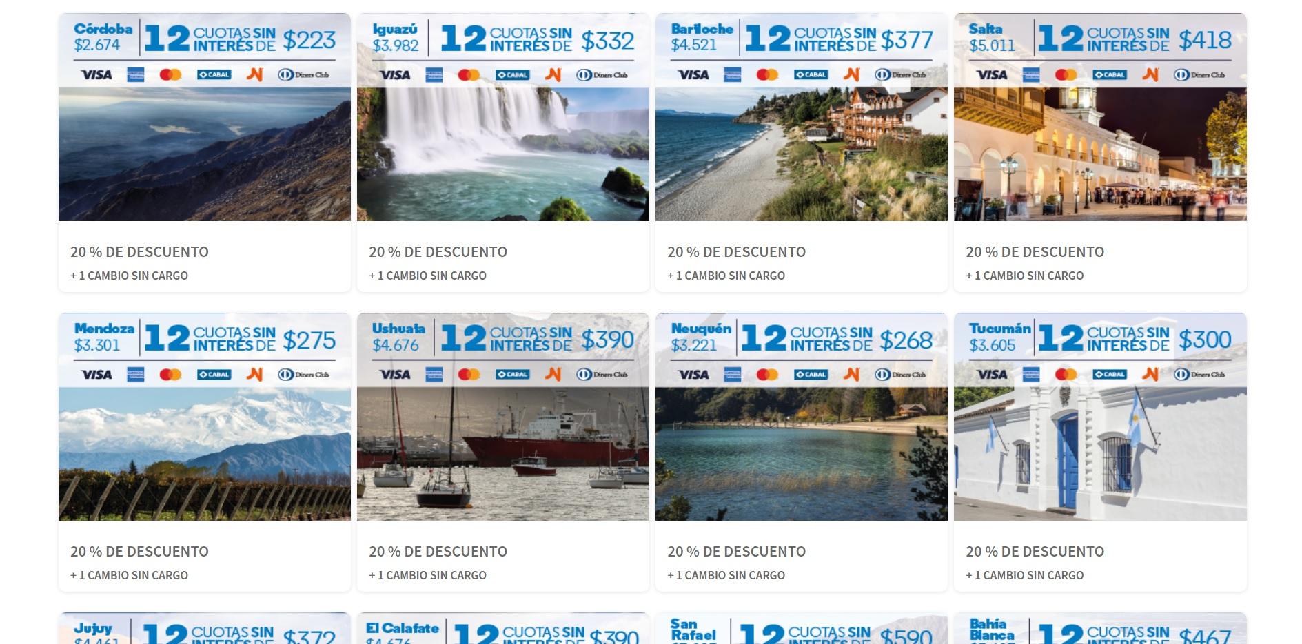 Hot Sale día 2 sección turismo
