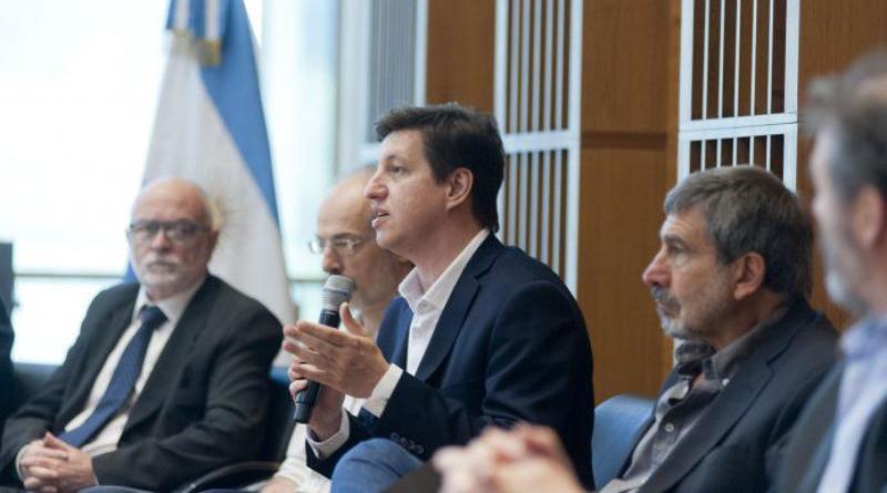 Fernando Peirano, presidente de la Agencia de Investigación, Desarrollo e innovación.
