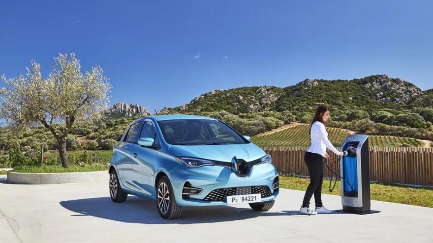 Renault Zoe, el más chico eléctrico llegaría en 2021 al país.