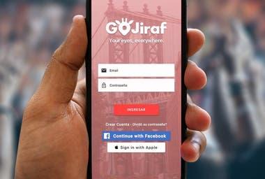 Así es la app de GoJiraf