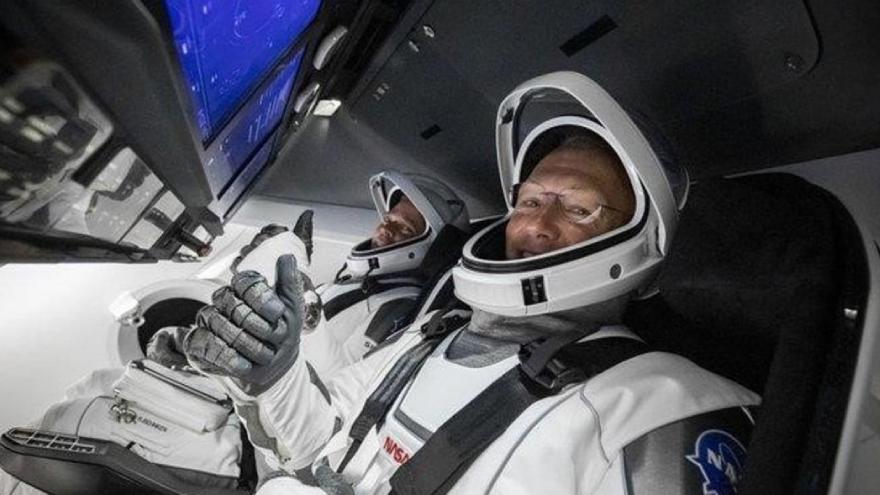 La sonrisa de los astronautas