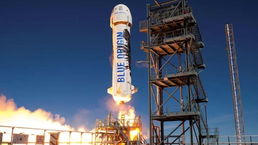 Blue Origin quiere ir al infinito y más allá