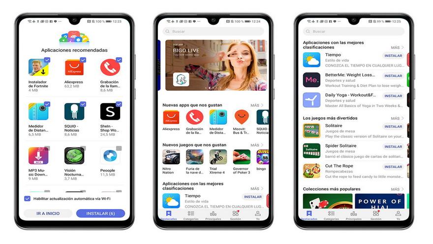 El nuevofrente de batalla contra Huawei es su uso de aplicaciones norteamericanas en su store