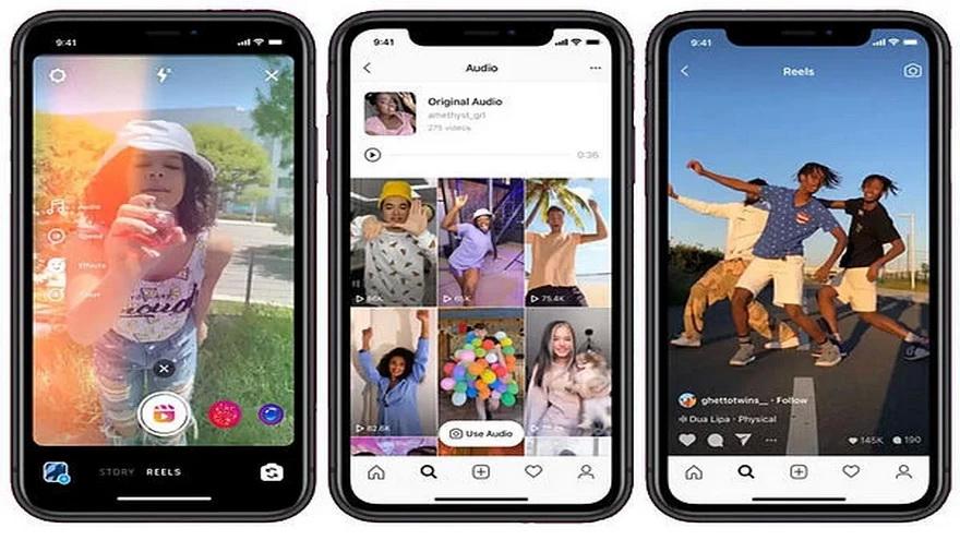Aprovechando los problemas a los que se enfrenta TikTok, Instagram lanza una copia, Reels