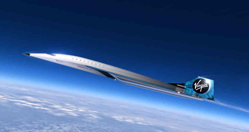 Mach 3 Virgin Galactic