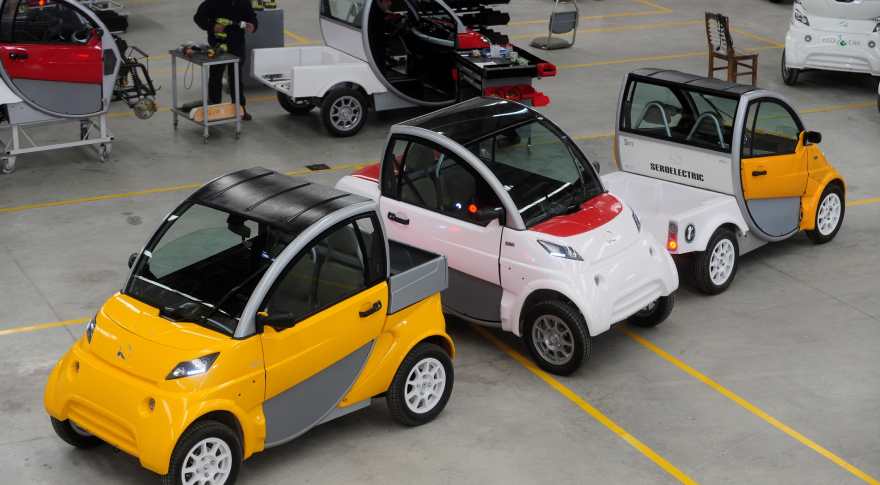 Autos eléctricos Sero