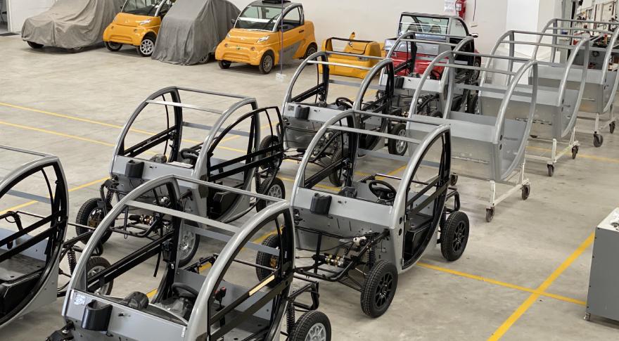 Fábrica de autos eléctricos Sero