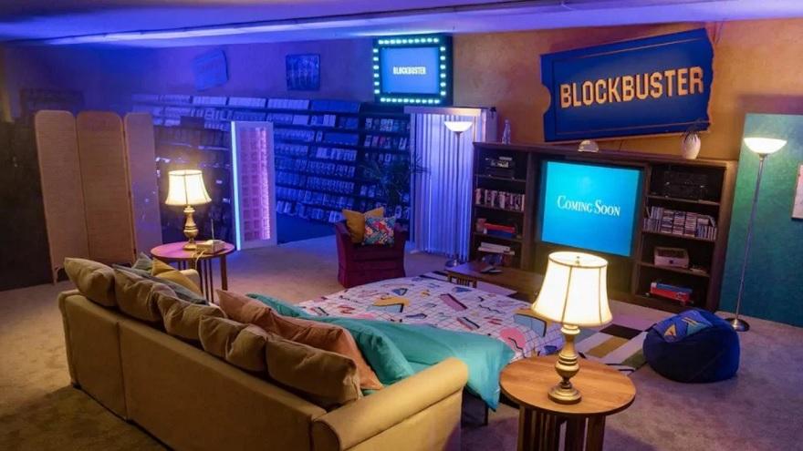 El último Blockbuster, ahora una habitación de alquiler